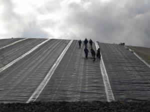 Geomembrane HDPE materiale geosintetice Con-Cyn Geoconstruct