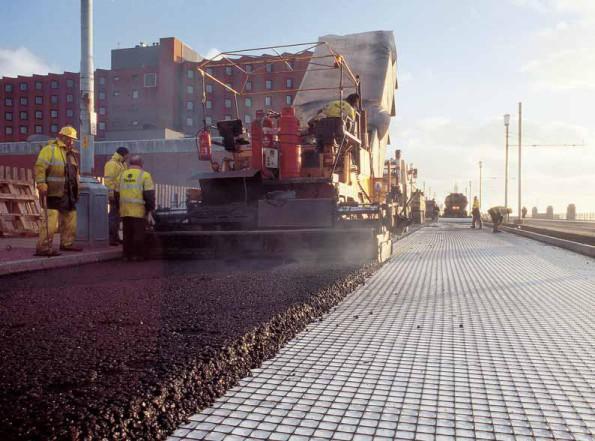 Geocompozite antifisura asfalt